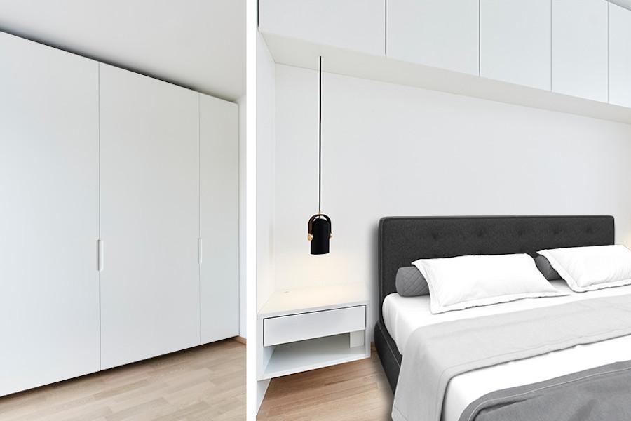 Schlafzimmer - Juli 2017 - Möbelschreinerei Andreas Küper München